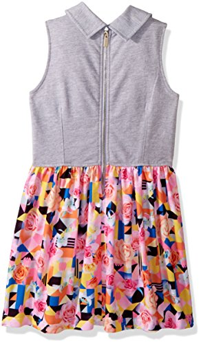 Sean John Big Girls' Tropical Geo Traveler Vested Dress, Multi, L by Sean John (Image #2)