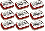 Altoids Smalls Pocket Size Peppermint Sugar Free Mint Tins - 9 Pack of .37 Oz (50 Mints)