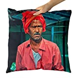 Westlake Art Portrait Man - Decorative Throw Pillow Cushion - Picture Photography Artwork Home Decor Living Room - 18x18 Inch (6772-06EFB)