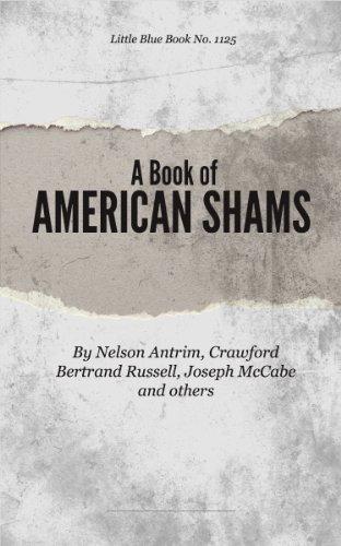 A Book Of American Shams Little Blue Book No 1125 Little Blue