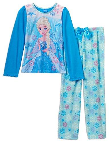 Frozen Girls Fleece Pajamas Litttle
