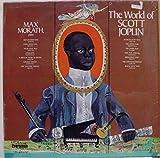 MAX MORATH THE WORLD OF SCOTT JOPLIN vinyl record