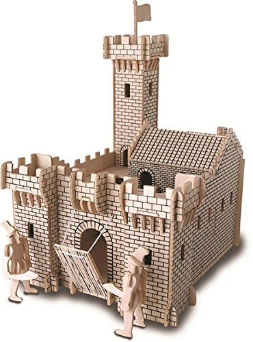 Ult Unite Sea Land 3 D Wooden Puzzle  Knight Castle