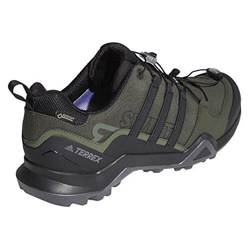 adidas outdoor Terrex Swift R2 GTX Mens Hiking Boot Night Cargo/Black/Base Green, Size 6 by adidas outdoor (Image #1)