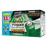Hot Shot 96181 Indoor Pest Control Fogger, 4-Count Bonus Size