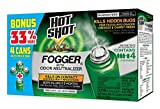 Hot Shot 96181 Indoor Pest Control Fogger 4-Count Bonus Size