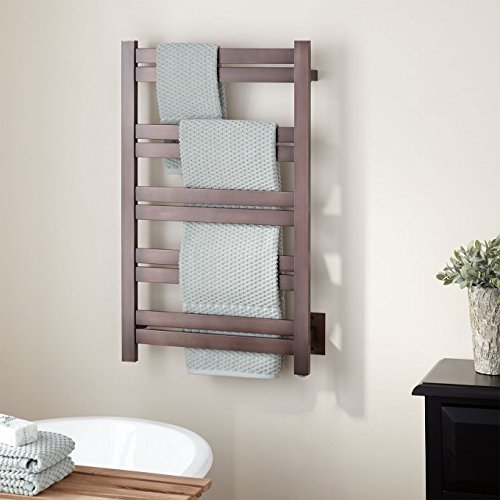 Naiture 20u0027u0027 Extra Tall Hardwired Towel Warmer In Oil Rubbed Bronze Finish  By SH