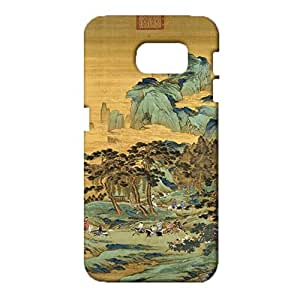 Colorful 3D Design for Samsung Galaxy S6 Phone Case Chinese Element Skin for Samsung Galaxy S6 Back Cover