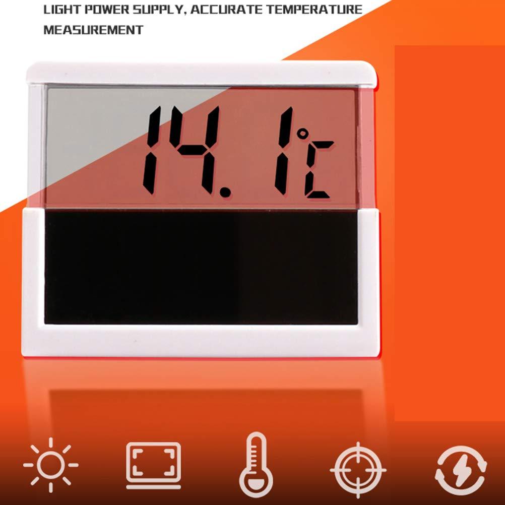 Balacoo Solar LED Digital Aquarium Thermometer Fish Tank Water Temperature for Fish Tank Aquarium by Balacoo (Image #4)