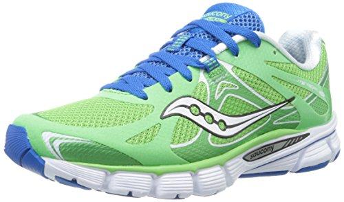 Saucony Women's Mirage 4 Running Shoe,Green/Blue,9.5 M US