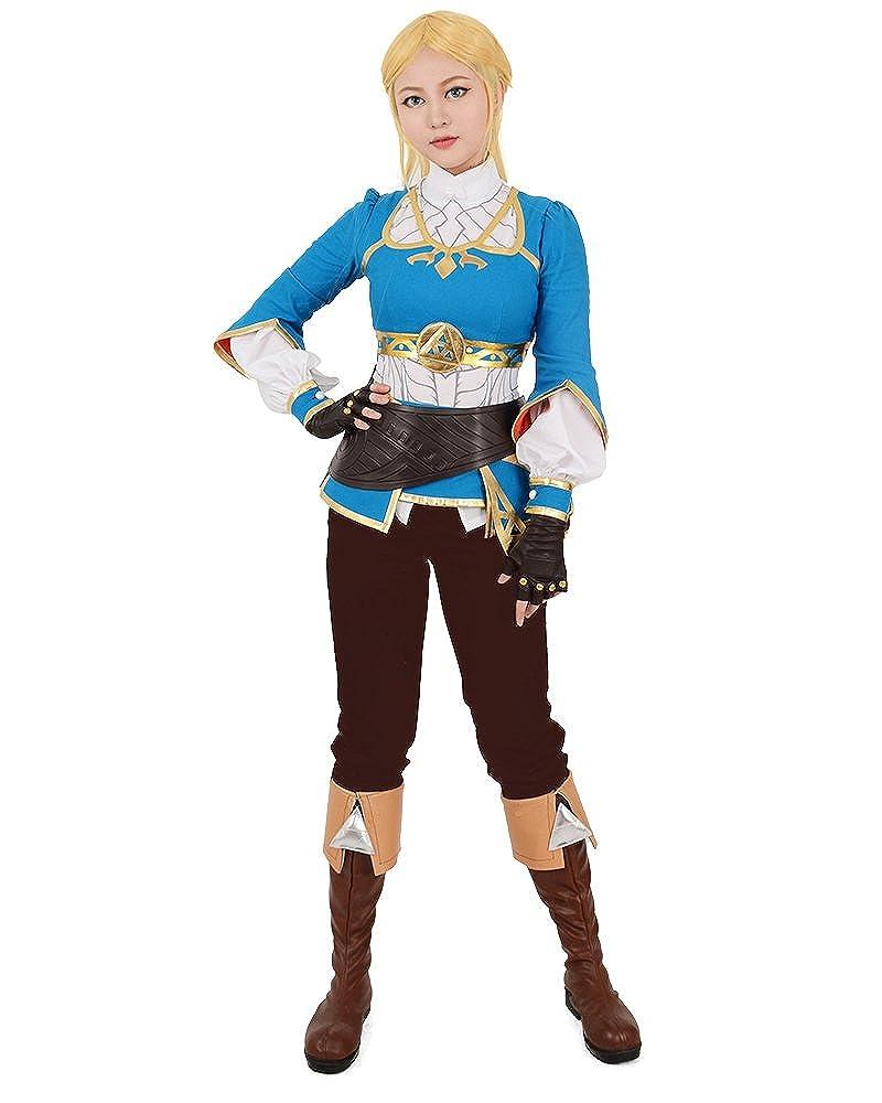 Amazon.com: Miccostumes Women\'s Breath Wild Princess Cosplay Costume ...