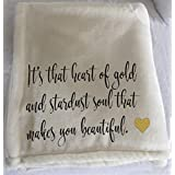 Personalized throw blanket for someone special!