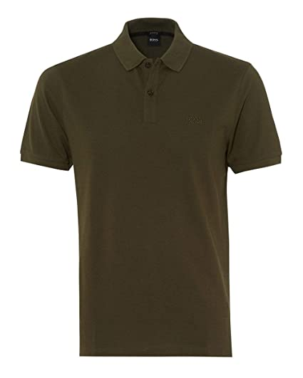 3920567d Image Unavailable. Image not available for. Color: Hugo Boss Mens Short  Sleeve Polo Shirt Pallas ...