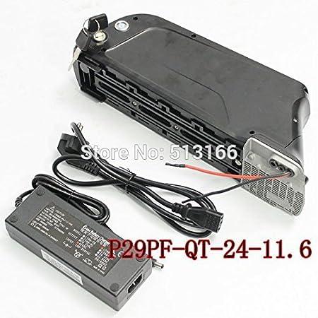 HYLH Batería de polímero de Iones de Litio de 24V 11.6Ah para la Bicicleta eléctrica Parte 3.7V 2.9AH para Pana 10A 3C 18650 P29PF-QT Batería de Litio