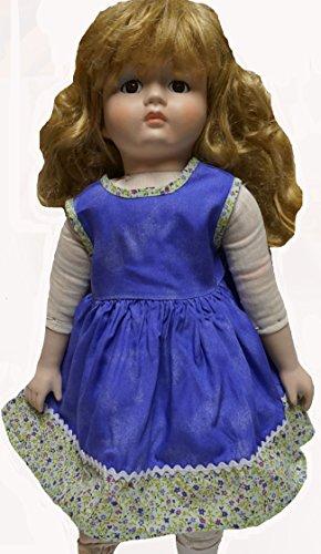 Purple Dress Flower Trim Fits 23 Inch Girl Dolls Like My Twinn Dolls