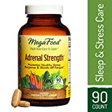 Cheap MegaFood – Adrenal Strength, Support for Energy, Focus, Alertness, Fatigue and Stress Management with Ashwagandha and Reishi Mushrooms, Vegetarian, Gluten-Free, Non-GMO, 90 Tablets (FFP)