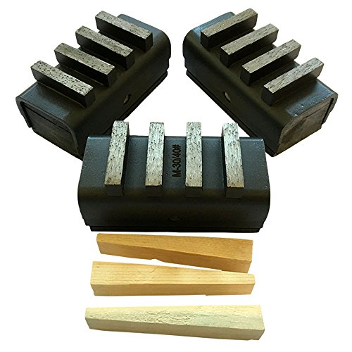 Concrete Grinding Blocks For Edco and Husqvarna Floor Grinders ()