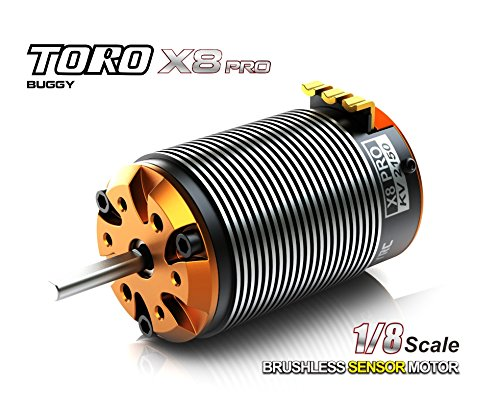 Pro 1/8 Buggy - SkyRC TORO X8 Pro Brushless Motor for 1/8 Buggy (2150KV)