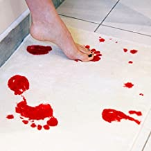 DMTRADE Thrilling Creative Amazing Blood Foot Bath Mat Pad Cushion