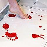 DMTRADE Thrilling Creative Amazing Blood Foot Bath Mat Pad Cushion