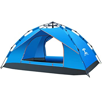 37202a93861739 TY&WJ Automatic Camping tent Nstant setup with portable carry bag Climbing  Outdoors Dome tent 1-