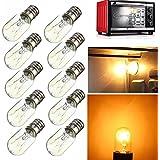 5X E14 15W 25W Light Bulb Glass Heat Resistant Lamp Bulb AC220-240V (Random