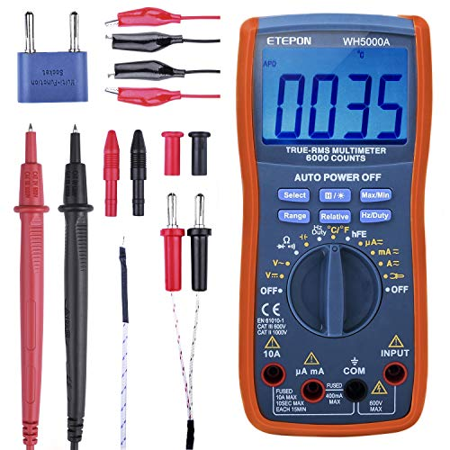 ETEPON Digital Multimeter True