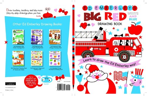 Ed Emberley's Big Red Drawing Book - Book  of the Ed Emberley Drawing Books