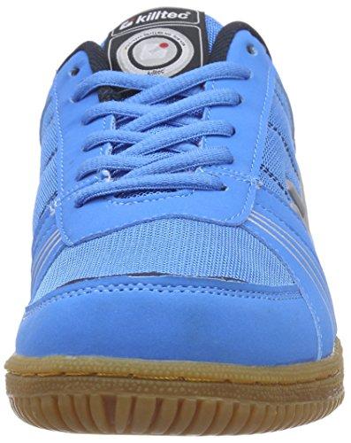 KilltecSoccero - Zapatillas Deportivas para Interior Unisex adulto Azul - Blau (neon blue / 00838)