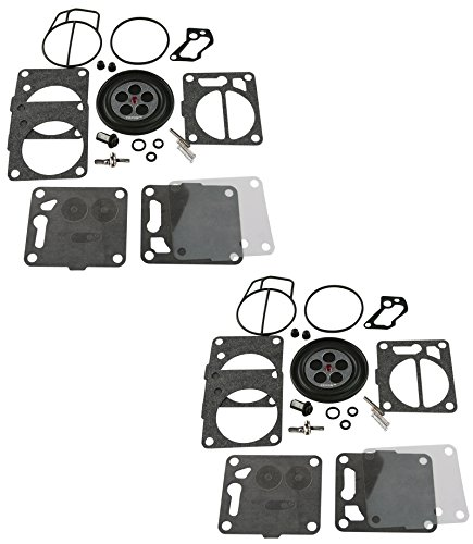 2 Pack of Premium Venom Brand SBN Mikuni Carb Carburetor Kit Fits Compatible With Yamaha MANY WaveRunner 3 700 701 760 1200 Wave Blaster FX-1 GP GP760 1200 Superjet Raider Venture XL760 XL700 XL1200 (Best Carbs For Runners)