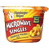 Hamburger Helper, Cheeseburger Mac Microwaveable Cup, 1.6 oz, 12 Pack