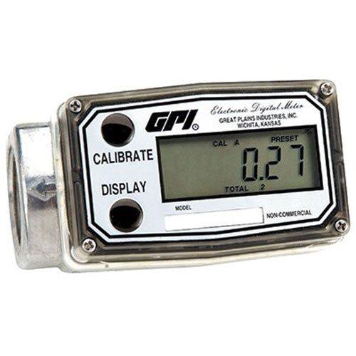 Dee Zee 113900-9501 6-Digit 3-50 GPM Digital Meter