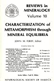 Characterization of Metamorphism Through Mineral Equilibria, , 093995012X