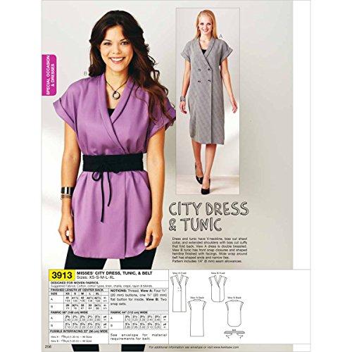 kwik sew wrap dress - 6