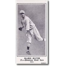 BABE RUTH 1916 Sporting News M101-5 Rookie Card #151 RC Reprint YANKEES