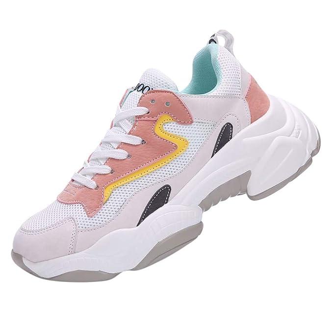 Amazon.com: Zapatillas de malla para correr con diseño de la ...