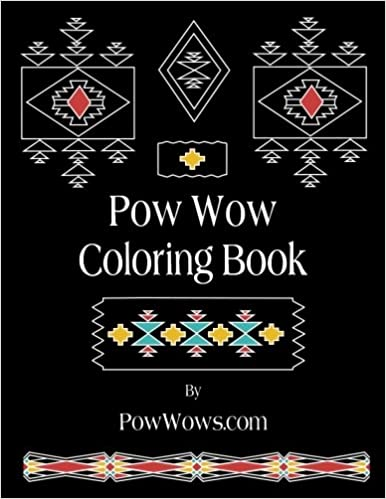 Amazon Pow Wow Coloring Book 9780692801499 Paul Gowder Books