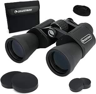 CELESTRON UpClose G2 10x50 Porro Binoculars, Black (71256)