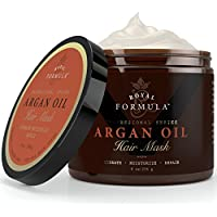 Nature's Potent Argan & Almond Oil 100% Organic Hair Mask, 8 Oz