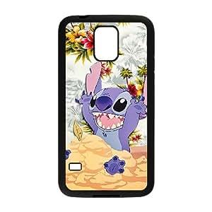 Disneys Lilo y Stitch Samsung Galaxy S5 celular negro TPU funda SV_283588