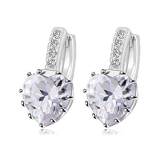 Liroyal Fashion Women Jewelry Diamond Bracelet / Necklace / Earrings / Retro Literary Gift Box U7GvgCo39