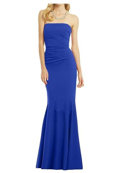 Diseño de la Toscana novia sirena vestidos de gasa por la noche vestido de largo bola