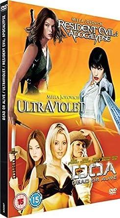 Amazon Com Resident Evil Apocalypse Ultraviolet Doa Dead Or