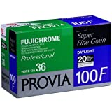 Fujifilm Fujichrome Provia RDP III 100F Color Slide Film ISO 100, 35mm Size, 36 Exposure, RDP-36, 20 Pack, Transparency U.S.A.