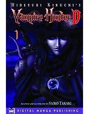 Hideyuki Kikuchis Vampire Hunter D Manga Volume 1