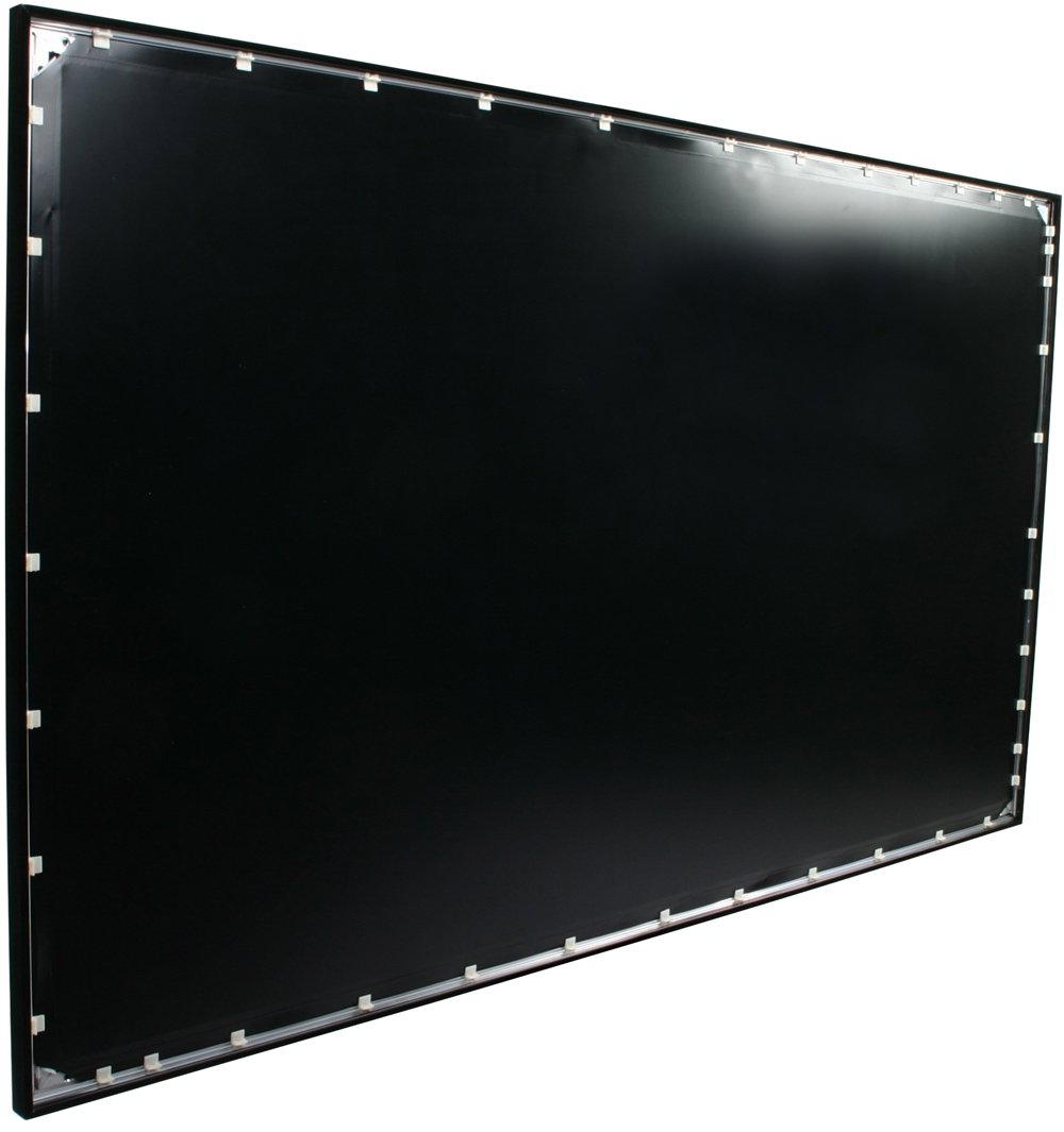 amazoncom elite screens ezframe series 120 inch diagonal 169 fixed frame home theater projection screen model r120wh1 home audio theater