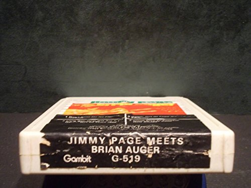 """""""Jimmy Page Meets Brian Auger"""" Vintage 8 Track Tape"""