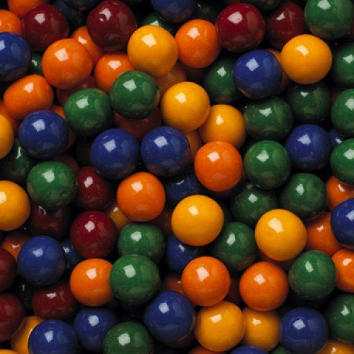 Concord Cry Baby Guts | Extra Sour Candy Filled Dubble Bubble Gumballs | Kosher | 1.5 Pounds (Bubble Baby Gum)