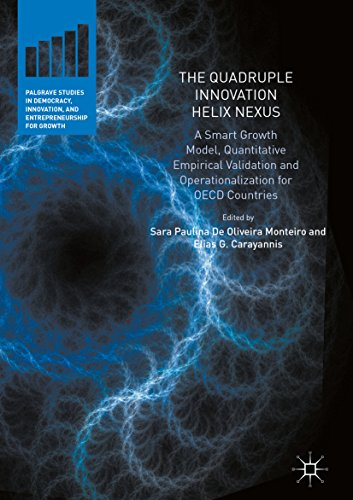 - The Quadruple Innovation Helix Nexus: A Smart Growth Model, Quantitative Empirical Validation and Operationalization for OECD Countries (Palgrave Studies ... and Entrepreneurship for Growth)