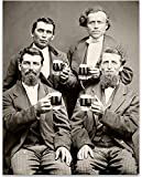 Best Personalized Gifts Buddies Frames - Drinking Buddies - 11x14 Unframed Art Print Review